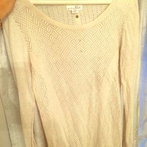 Sweaters - Cream Sweater- Oatmeal Color